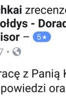 Referencje Facebook - Pan Andrii Pochkai, Centrum Metal Odczynniki Chemiczne