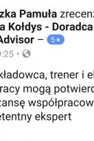 Referencje Facebook - Pani Agnieszka Pamuła, Vektor Transport Polska Sp. z o. o.