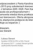 Referencje Linkedin - Pan Łukasz Sierant