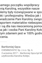 Referencje Linkedin - Pan Bartłomiej Gęca