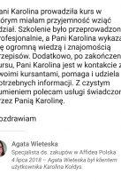 Referencje Linkedin - Pani Agata Wieteska