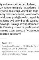 Referencje Linkedin - Pani Anna Litz