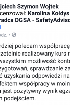 Referencje Facebook - Pan Wojciech Arwaj